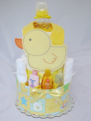 Baby Duck Nappy Cake