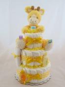 Geri Giraffe Nappy Cake, 3 Tier