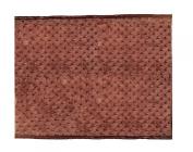 Patricia Ann Designs Chocolate Brown Minky Dot Changing Mat, Tan Fleece and Chocolate Satin Trim