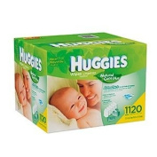 Huggies Natural Care Plus Baby Wipes, Refill Pack, Unscented, 1160 Ct