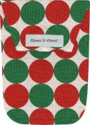 Diapees & Wipees Santa Disco Dot Baby Nappy and Wipes Bag