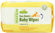 BabyGanics Baby Wipes Extra Gentle, Fragrance Free, Newborn Value Box, Contains Four 100-Count Packs