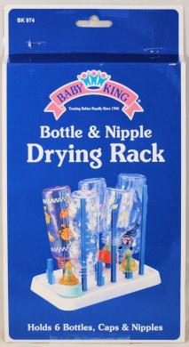 Baby King Bottle & Nipple Drying Rack