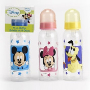 Disney Mickey Bottle (9oz) - Mickey, Mini, Pluto Characters Vary