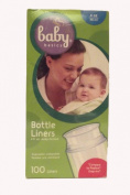 Baby Basice Bottle Liners - 120ml, ready formed, disposable, collapsible, pre-sterilised