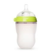 Comotomo Natural Feel Baby Bottle, Single Pack Green, 250ml