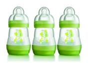 MAM 160ml Anti-Colic Bottles 3 Pack