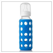 Lifefactory 270ml Baby Bottle (SET OF TWO), colour = Ocean Blue