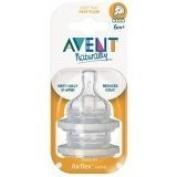 Avent Nipples Fast Flow 2/pack, 3 Packs