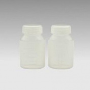 Ameda Milk Collection Bottles Translucent 17253