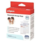 NEW Pigeon Breastmilk Storage Bags BPA Free 25 Bags