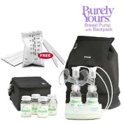 Ameda 17075KIT4 Combo 4 Purely Yours Breast Pump with Back Pack Free Ameda Milk Storage Bags - 20 ct box