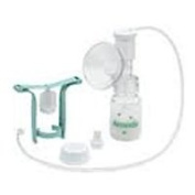 Single HygieniKit Milk Collection System with One-Hand Manual Breast Pump Adapter