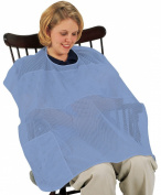 Leachco Covered N Cool Breast feeding Cover, Periwinkle