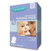 Lansinoh Disposable Nursing Pads, 60-Count Boxes