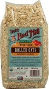 Organic Extra Thick Rolled Oats, 470ml