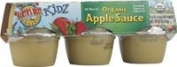 Kidz Organic Apple Sauce, 6 Containers, 120ml (113 g) Each