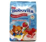Bobovita Milk and Rice Gruel Strawberry for Babies