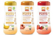 Happy Baby Organic Puffs 60ml Mixed 3 Pack