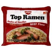 Nissin Top Ramen Beef Flavour Ramen Noodle Soup 90ml