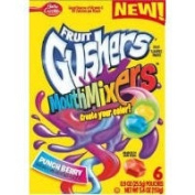 Betty Crocker Fruit Gushers Mouth Mixers Punch Berry - 12 pack