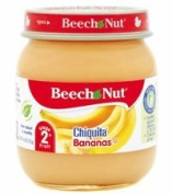 Beech-nut, Stage 2, Chiquita Bananas (4 Oz.) Pack of 12