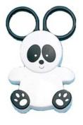 Japan Skater Baby Food Scissors - Panda