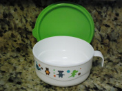 Tupperware Early Ages Feeding Cup Bowl with Handle