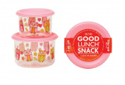 Sugarbooger 2 Count Good Lunch Snack Container, Hoot
