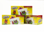 WEXY Lunch and Munch Snack Bags for Kids Lunch Boxes Fun