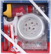 Kansas City Chiefs NFL Football Newborn Baby Necessities Gift Set