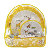 Baby Cie Jungle Animals Backpack Lunch Set