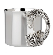 Reed & Barton Silver Plate Giraffe Baby Cup