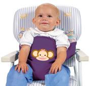 Leachco Sit 'N Secure Child's Safe Seating Wrap - Purple Monkey