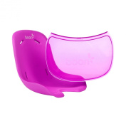 Boon Flair Chair Seat Pad Plus Tray Liner, Pink