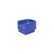 Cambro Navy Blue Single Height Booster Seat with No Strap