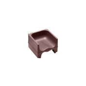 Cambro Dark Brown Dual Height Booster Seat with No Strap