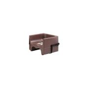 Cambro Dark Brown Dual Seat Booster Seat w/Strap