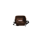 Cambro Dark Brown Single Height Booster Seat with Safety Strap - Case = 4