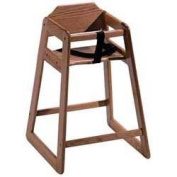 Old Dominion S-1 Wooden High Chair Solid Oak, Natural Oak Finish
