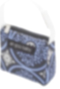 Ah Goo Baby Pacifier Tote, Blueberry