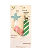 Jaq Jaq Bird Binky Keeper, Green Stripe