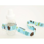 Dropper Stopper Sippy Cup & Toy Tether ~ Sky Dot