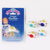 Printed Baby Pacifier, Colours May Vary