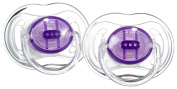 Philips AVENT SCF170/21 BPA-Free Translucent Soothers (3-6 Months) 2 Pack