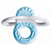 MAM Bite And Relax Phase 1 Mini Teether - Blue