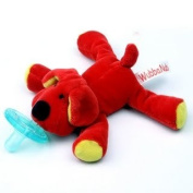 WubbaNub Infant Plush Toy Pacifier - Dog
