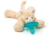 WubbaNub Infant Pacifier - Tabby Kitten