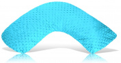 Luna Lullaby Bosom Baby Nursing Pillow, Turquoise Dot