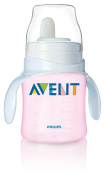 Philips Avent SCF626/02 BPA Free Classic Bottle to First Cup Trainer, Pink, 120ml